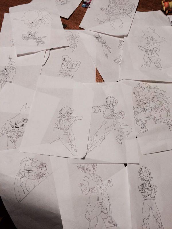 ドラゴンボールの写し絵😊 | オシャレ買い物大好き育児&仕事奮闘記 - 楽天ブログ