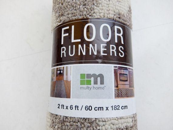 コストコ ◆ マルチ アクセント ラグ 1,298円 Floor Runners 60cm × 182cm(2ft×6ft) キッチン カーペット