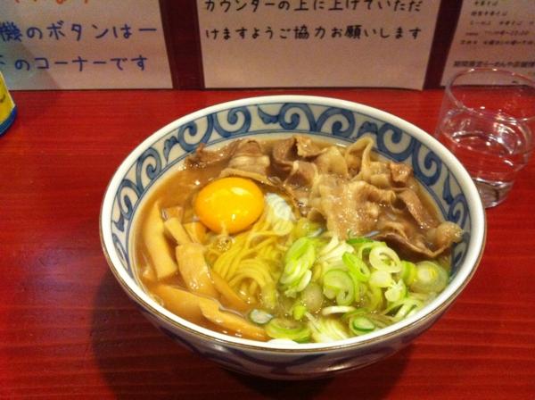 麺屋 十郎兵衛 じゅろへえ風徳島ラーメン(二杯目)