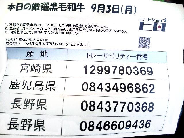 番号 個体 識別
