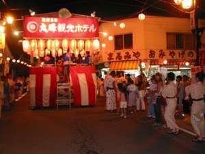 会津・芦ノ牧温泉 盆踊り大会♪ 真夏の夜の夢♪