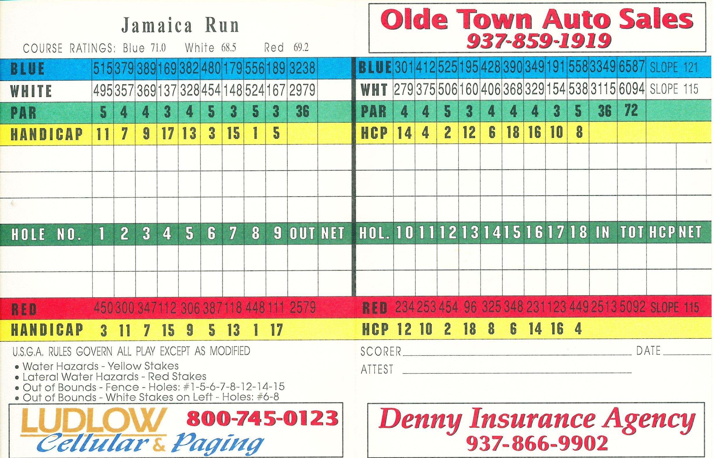 jamaica run golf course cincigolf com