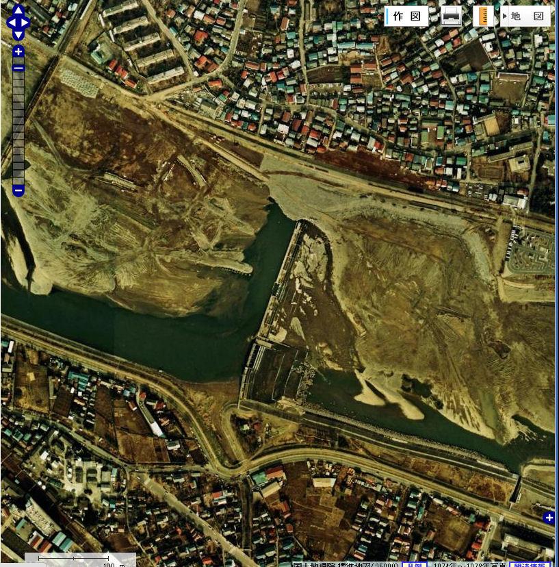 多摩川 が 氾濫 したら