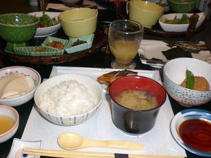 花月 夕食5