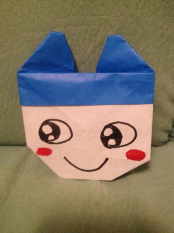 すべての折り紙 超難しい折り紙折り方 : キャラクター折り紙 まめっち ...