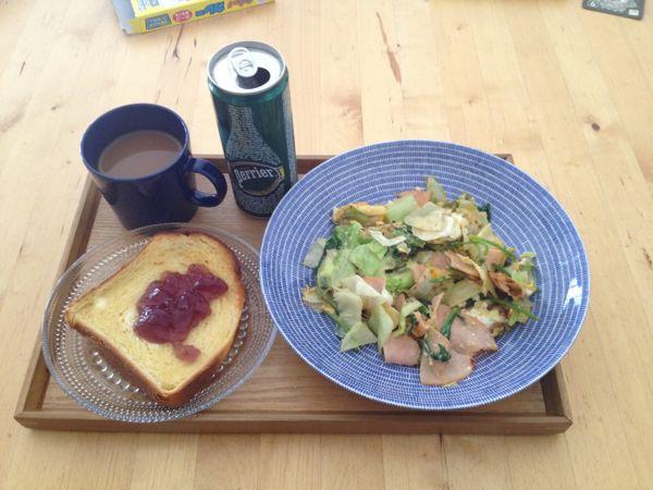 朝マックの朝食と糖質&昼食♪ ...