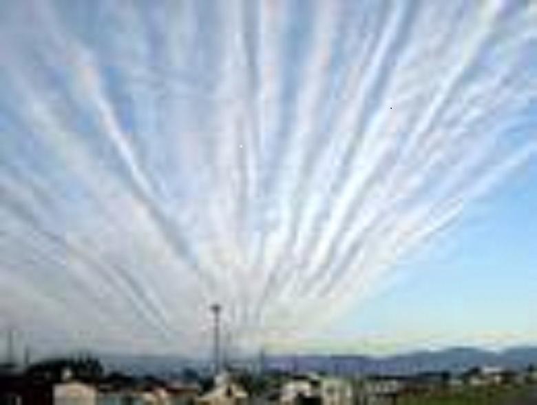 地震雲画像最新