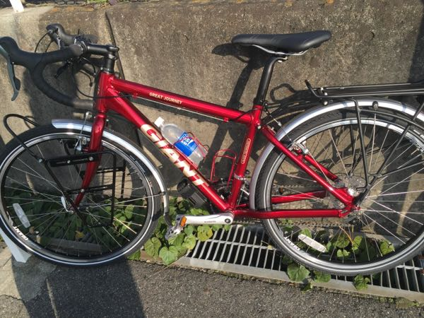 今日はその旅の時使う自転車で ...