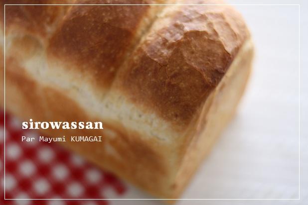 こねないパンで山食