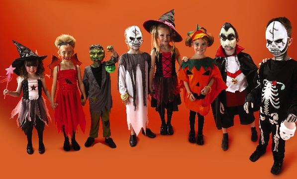 ハロウィンの仮装。