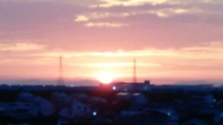夕日サンセットの写真