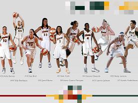 WNBAシアトル・ストームズ。