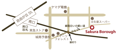 サクラボローmap