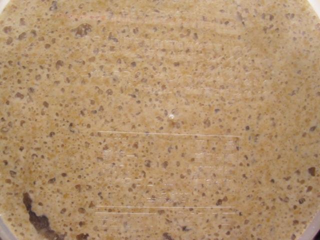 人参酵母のパン種20120412