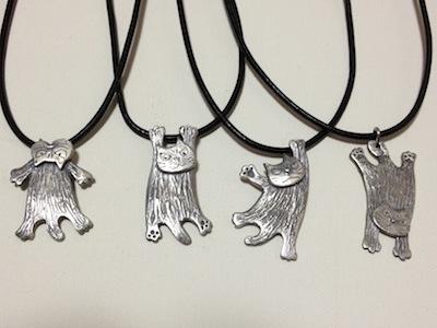silverぶらさがり猫シリーズ