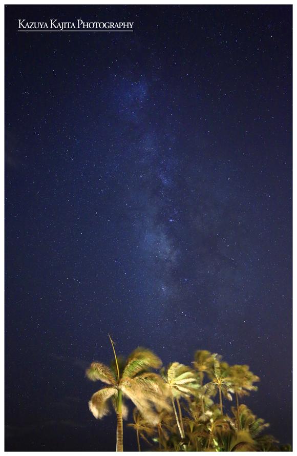 Waialae Beach にて