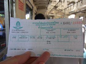 メークローン-バーンレームの切符