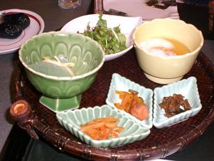 花月 夕食2