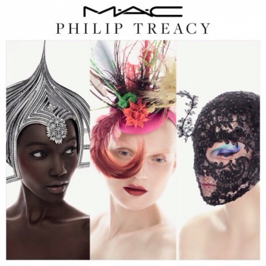 本日発売!MAC x Philip Treacy ...