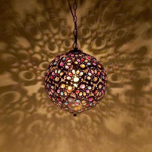 モロカンスタイルの照明 ※イメージ画像