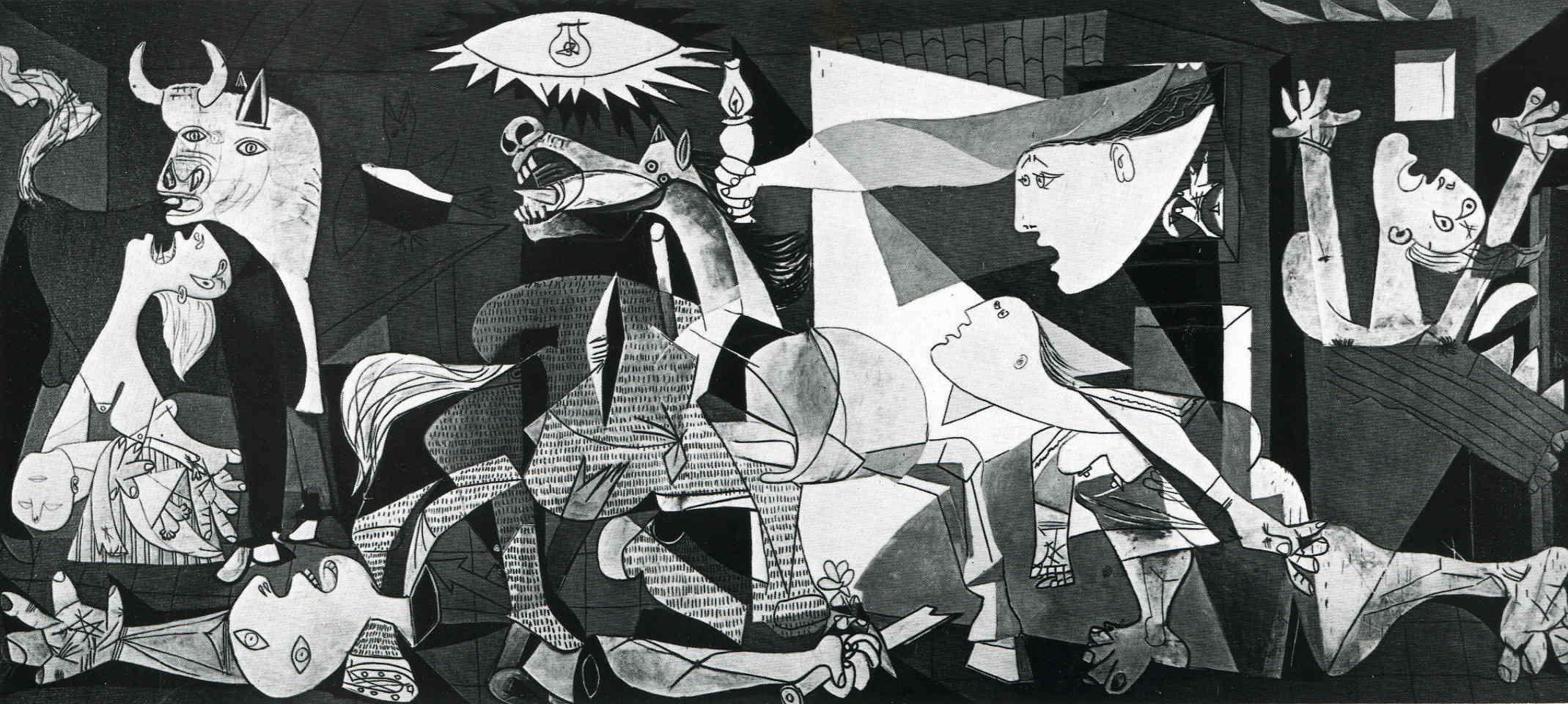 スペイン『国立ソフィア王妃芸術センター』ピカソが「ゲルニカ」を描いた経過と理由