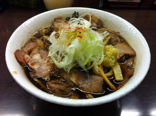 肉そば総本山 神保町 けいすけ 肉そば(醤油)