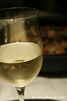 白ワインと。。