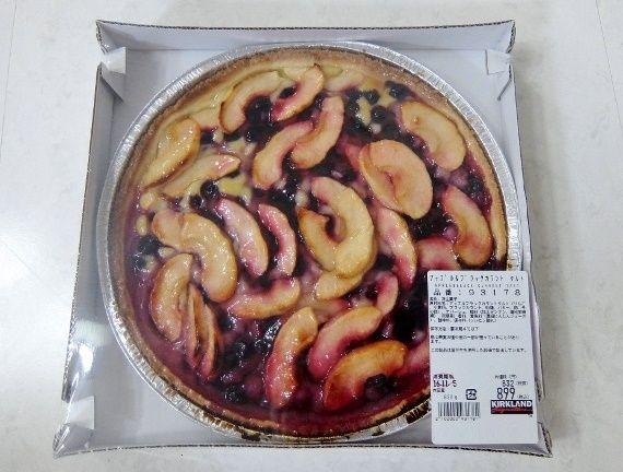 コストコ アップル&ブラックカラント タルト 899円也