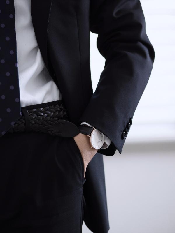 《メンズ腕時計!》ダニエルウェリントンでオン&オフコーディネート。