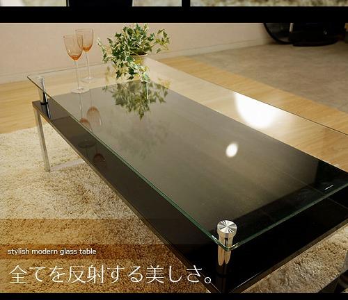ガラステーブルミキティの激安家具SHOP