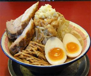 仙台 二郎 系 ラーメン