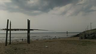 世界遺産の三池港の写真