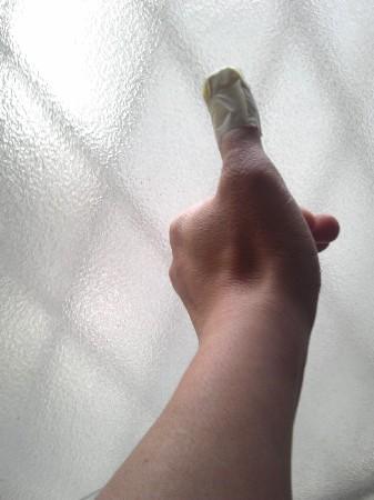 切っ た 止血 指