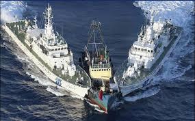 中国公船、尖閣領海侵犯。 | 自...