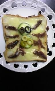 蜘蛛トースト3