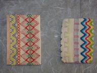 刺繍(ティッシュカバーうら)
