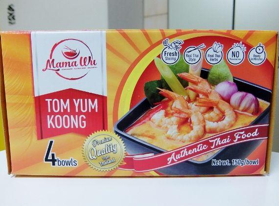 冷凍 コストコ MAMA WU トムヤムクン 998円 セット Mama Wu