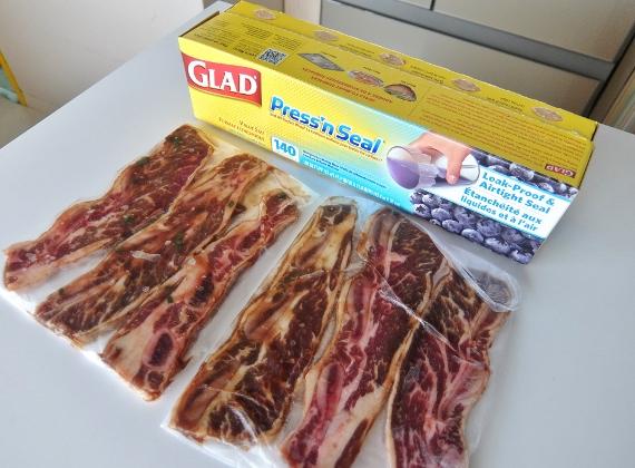 コストコ LA カルビ 骨付き 肉