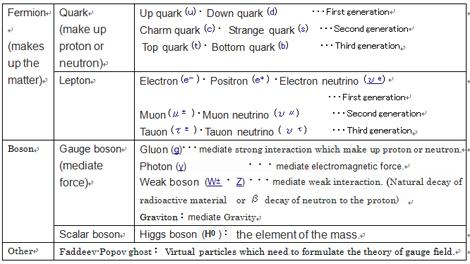 21 Standard Theory(Standard Model)
