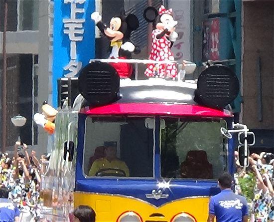 ディズニーシーパレード神戸まつり