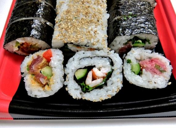 コストコ バラエティ スシロール 寿司ロール3本セット 円 辛口