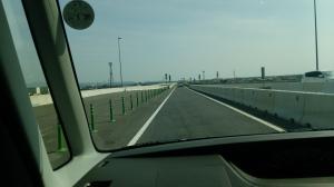 有明沿岸道路の写真