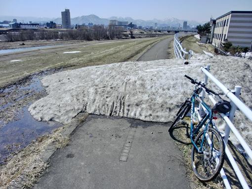 早春の札幌、迷走ポタリング ...