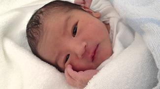 「産まれました。女の子です。」
