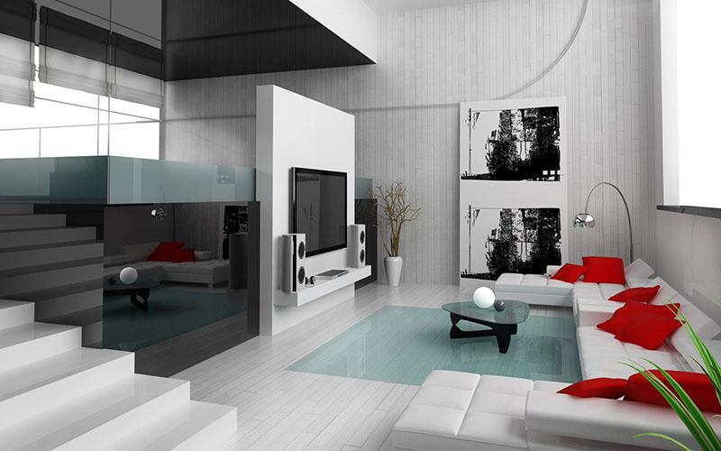 シンプルモダンな部屋は無機質な素材を使って演出しよう Tomyhouse