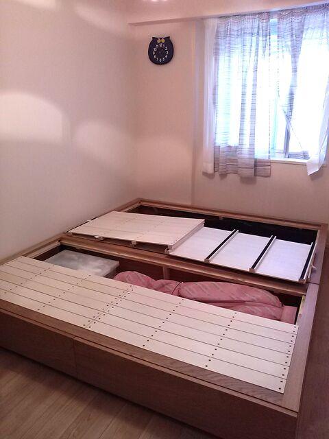 無印良品のベッド*