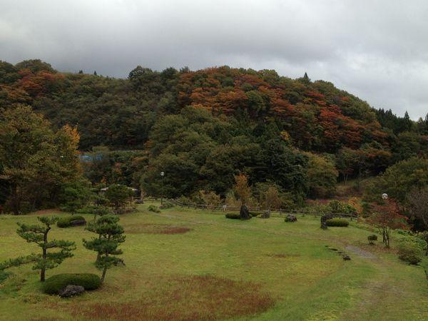 20121101庭園紅葉