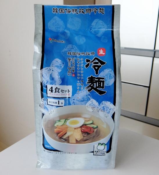 冷麺 4食 778円也 コストコ レイメン 韓国