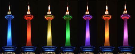 タワー ライト アップ 京都