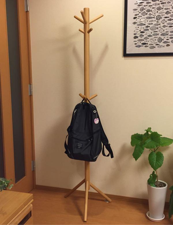 無印のブナ材コートハンガーを組み立てる。 | りこなこママの部屋 - 楽天ブログ